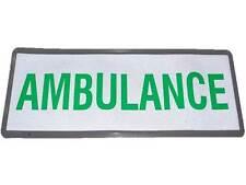 Insignia Reflectante Ambulancia (grande) no Hook & Loop comunidad Paramédico EMT MEDIC