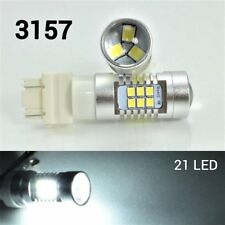 Front Signal T25 3157 3057 4157 Peformance Auto 21 SMD LED White B1 For Eagle A