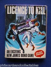 Golden Wonder Crisps -  James Bond Licence To Kill Card Game  - 1967