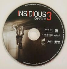 Insidious: Chapter 3 (Blu-ray, 2015) Disc Only