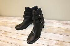 Stuart Weitzman Strapduo Short Ankle Boots - Women's Size 10, Black