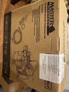 Master airbrush compressor, 12 Chefmaster Airbrush Cake Color Set