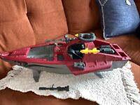 GI Joe Cobra Moray Hydrofoil 1985 InComplete for parts or restore.