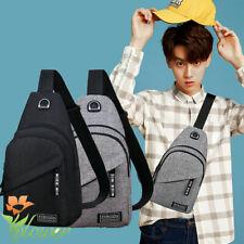 Mens Sling Bag Cross Body Handbag Chest Bag Shoulder Pack Sports Travel Backpack
