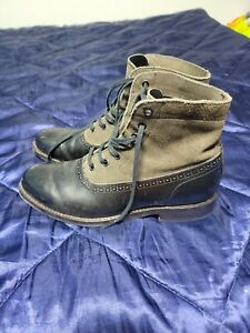 Wolverine Shoes | Wolverine 1000 Mile Spectator Black Leather Boots  size 8.5