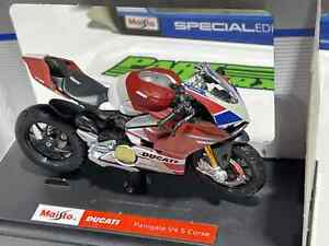 Ducati Panigale V4 S Corse 1:18 Motorbike Motorcycle Childs Kids Toy Dads Gift