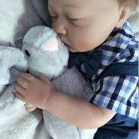 LIFELIKE NEWBORN DOLLS REALISTIC SILICONE VINYL REBORN BABY BOY DOLL XMAS GIFTS