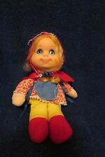 Vintage Mattel Baby Beans Little Red Riding Hood Doll
