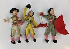1950's Collector Klumpe Felt Cloth Doll Matador Great Condition Lot