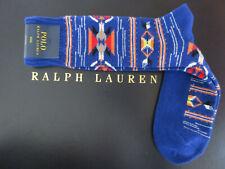 Polo RALPH LAUREN Socks Men's Wool Blend Southwestern Indian Boot Socks