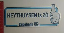 Aufkleber/Sticker: Rabobank Heythuysen is Zó (301216179)