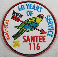 "OA Lodge 116 Santee J3 FDL; ""60 years of Service 1938-1998""; ANN [FL1122]"