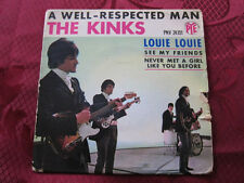 KINKS A Well Respected Man French Ep
