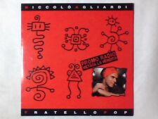 NICCOLO' AGLIARDI Fratello pop cd singolo PR0M0 RARISSIMO