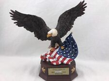 This Land Is Free Because Of The Brave Box - Eagle - american flag
