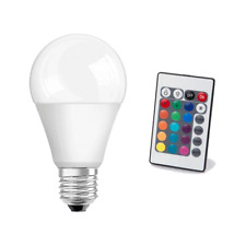 LAMPE LED PUISSANCE 10 WATT TENSION 230 VOLT CULOT E27 AVEC TELECOMMANDE