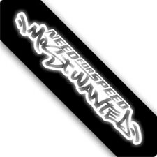 3M Reflective Need for Speed Most Wanted Car Sticker Decal 00416 20x3CM