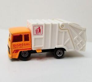 Matchbox Disposal Unit 24 Refuse Truck 1979n