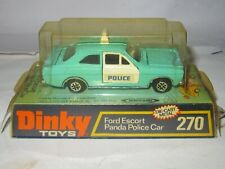 Dinky Toys - No. 270  -FORD ESCORT PANDA POLICE CAR - MINT/PERFECT CONDITION