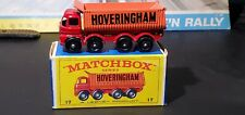 Matchbox Lesney Foden HOVERINGHAM 8 wheel Tipper #17 D2 * With Box *
