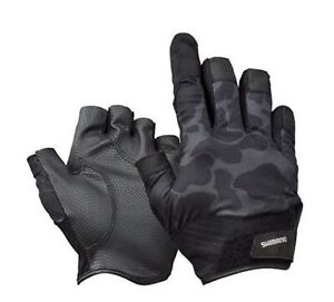 Shimano GL-229T Power Casting Gloves Right Index Finger Camou Size XL 670335