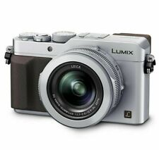 Panasonic DMC-LX100EBS Digital Compact Camera in-Silver With 4K Video -