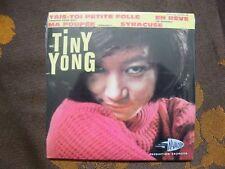 CD SINGLE TINY YONG - Tais-Toi Petite Folle 4 TRACK CARD SLEEVE/Salvador Reissue