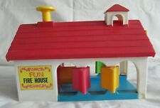 Fisher Price Fun Fire House. Used.