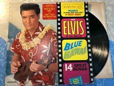 Elvis Presley Blue Hawaii LPM-2426 Rare Red Hype Sticker 1961 Original Excellent
