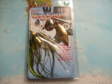 War Eagle Custom Lures 1/2 Oz Screamin Col/Will Gold Watermelon Brand New!!!