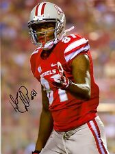 Devante Davis SIGNED UNLV Rebels 8X10 PHOTO AUTO w/ COA 2015 NFL Draft