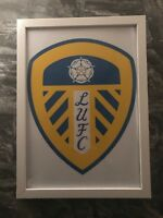 Leeds United Football Club Logo Print Picture Gift