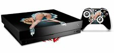 Skin for XBOX One X Console Controller Alice Pinup Girl Decal