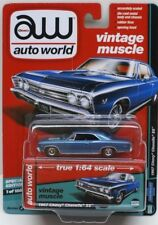 Auto World 1:64 Special Edition 1967 Chevy Chevelle SS Blue AW64132A