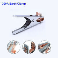 300Amp Arc Welding Earth Ground Clamp Copper Welding Professional Manual Welder
