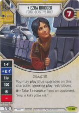 x1 Ezra Bridger - Force-sensitive Thief 38 Rare Star Wars Destiny Empire at War
