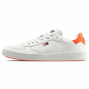 Tommy Hilfiger DONOVAN 1A Uomo  Scarpe da Ginnastica Sneakers Bianco