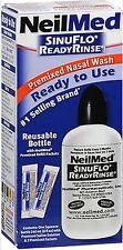 """NeilMed SinuFlo Ready Rinse Squeeze Bottle  """" Travel or Easy to Use Netti pot """""""
