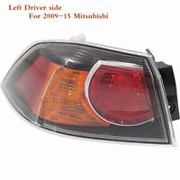 Left Driver Side 8330A621 Tail Light Lamp For 09-15 Mitsubishi LANCER 2.0L&2.4L