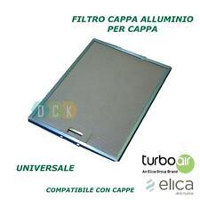 FILTRO CAPPA ALLUMINIO METALLICO 247X327X8 MM TURBOAIR ANTIGRASSO UNIVERSALE