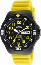 Invicta Coalition Forces 25328 Men's Round Analog Day Date ABS Silicone Watch