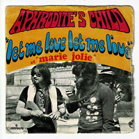 "APHRODITE'S CHILD Vinyl 45T 7"" LET ME LOVE ..LIVE - MARIE JOLIE - MERCURY 132506"