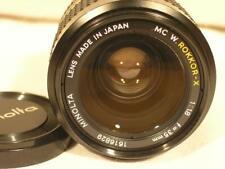 Minolta MC W. Rokkor-X 35mm F:1.8 Manual Lens