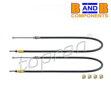 SMART 451 42 CABRIO HANDBRAKE CABLES PARKING BRAKE A1541