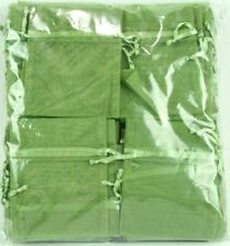 Organza bags 100 Pcs 3x4 Olive green Party favor Wedding Favor Candy Gift Bag