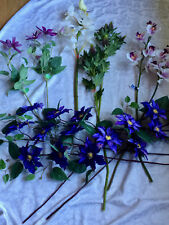 Lot of 11 Nwt - Imitation/Silk Florals - Shades of Purple