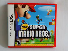 NEW SUPER MARIO BROS. Game - NINTENDO DS/DSi/XL/3D/Lite -  COMPLETE!