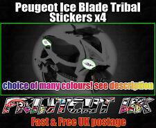 Peugeot ICE BLADE Tribal Stickers iceblade 50 100 125 Speedfight Jetforce Ctech