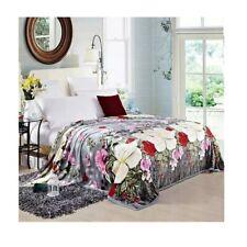Two-side Blanket Bedding Throw Coral fleece Super Soft Warm Value 200cm 29
