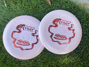 Pair of New Innova James Conrad Color Glow Aviar 2020 Tour Series 168/167g